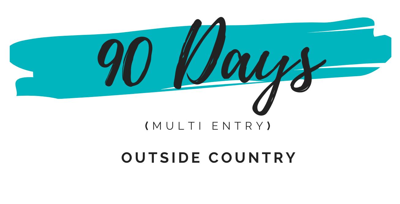 90 days multi entry dubai visa
