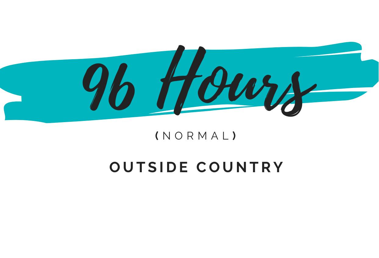 96 hours visa dubai